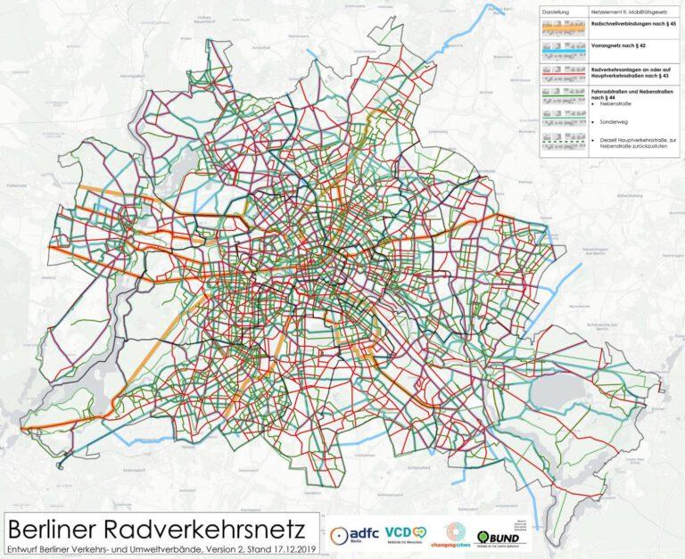 Radnetzplan der Verbände für Berlin Version 2.0