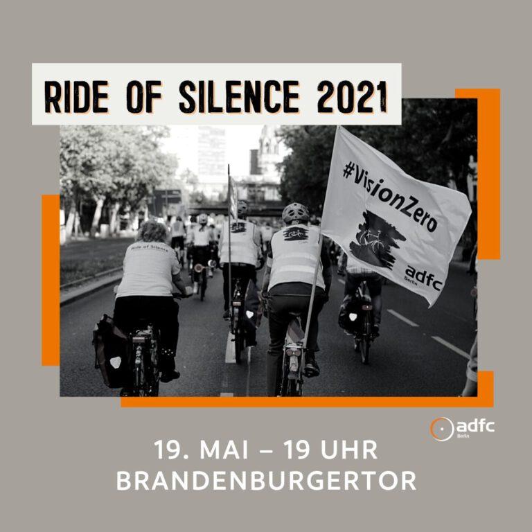 Ride of Silence 2021 in Berlin